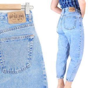 "Vintage GAP high waist ""Reverse Fit"" Mom Jeans"
